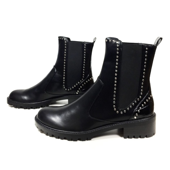 Zara Shoes | Zara Flat Ankle Boots With